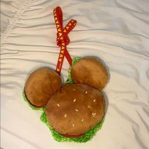 Tokyo Disneyland Hamburger Passholder bag